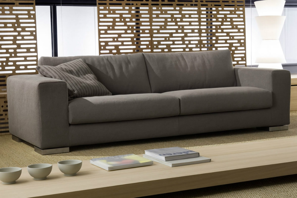 leather sofa and all for sitting room