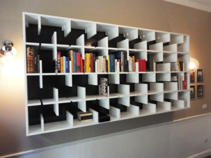 classic and modern bookcase